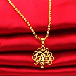 2019 albero di acero di natale 2019 collana in oro imitazione ottone gioielli in oro collana albero di Natale albero della vita ciondolo foglia d'acero donna cigno ciondolo foglia ciondolo albero di acero di natale economici