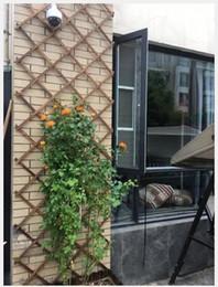 recinzione di legno fiorito Sconti Recinzione in legno Recinzione in legno carbonizzato e anticorrosivo rete in legno telescopica rete in legno recinzione a parete griglia fiore cremagliera rampicante