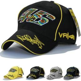 vr 46 hat Rebajas El nuevo diseño del coche del casquillo F1 Racing Moto Racing MOTO GP VR 46 Rossi bordado Deporte Hiphop algodón del camionero gorra de béisbol