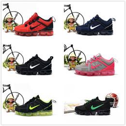 nike air max airmax vapormax 2019 bebé niño Tejer portátil niños zapatillas niños 2018 cojín KPU Calzado deportivo Niños Niñas Zapatillas de entrenamiento desde fabricantes