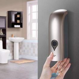 2019 spray nano argent 300 ml Mur Monté Unique-Tête manuel distributeur de savon gel douche liquide shampooing désinfectant distributeur titulaire