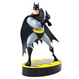 Комплекты моделей pvc онлайн-20 см Мстители Бэтмен мультсериал ARTFX + статуя 1/10 масштаб предварительно окрашены модель комплект ПВХ фигурку коллекционная модель игрушка