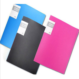 Canada Dossier de 30 pages Livre Dossiers avec insertion de plastique Dossier en papier pour examen Dossier au format A4 supplier a4 paper folder Offre