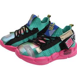 2019 zapatos de deporte hechos a mano SKHEK Spring New Brand Zapatos para niños Zapatillas para niños Zapatillas sin cordones hechas a mano Zapatillas para niños Zapatillas para niños Deportes casuales Niños zapatos de deporte hechos a mano baratos