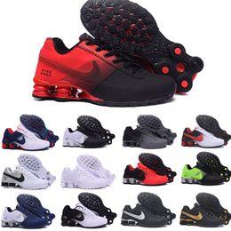 2020 zapatillas de correr para hombre shox nike Tn plus shox Nueva Shox entrega 809 zapatillas para hombre Air Las mujeres del Mens famosos OZ NZ atléticos zapatillas de deporte de los zapatos corrientes 36-46 rebajas zapatillas de correr para hombre shox