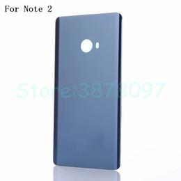 Original 5,7 zoll batteriefach rückseitige abdeckung für xiaomi note2 hinweis 2 zurück batterieabdeckung glas gehäuse hintere tür fall mit logo von Fabrikanten