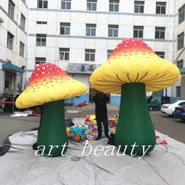 champignons gonflables géants de décoration de champignon pour la décoration à la mode de yard d'anniversaire à la mode de festival ? partir de fabricateur
