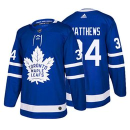 barato homens Auston Matthew Toronto Maple Leafs Jersey John Tavares Mitchell Marner William Nylander Morgan Rielly Nazem Kadri hockey jerseys de Fornecedores de camisas de hóquei para barato