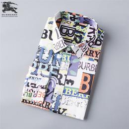 Nuove camicie di stile coreano online-Autunno manica lunga risvolto camicia stile maschile nuovo modello coreano edizione uomo gioventù confortevole abbigliamento