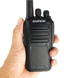 2019 auriculares pola motorola BAOFENG UV-6 Walkie talkie de mano en el teléfono VHF 136-174MHz UHF 400-470MHz 8W 5-8KM Intercomunicador de radio bidireccional de banda dual en caja minorista