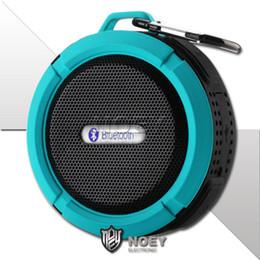 2019 copo de voz Portátil Sem Fio Mini Speaker Bluetooth Ventosa À Prova D 'Água Handsfree Caixa de Voz Caixa de Alto-falantes Surround Sound System Speaker Com Varejo Packa desconto copo de voz