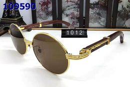 corno originale Sconti 2019 nuovi occhiali da sole in corno di bufalo senza montatura Fashion occhiali da sole invernali occhiali da sole firmati da uomo per uomo donna lenti trasparenti con scatola originale