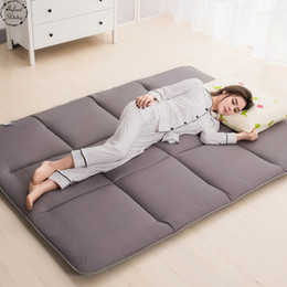 tapis de sieste Promotion Infant Brillant 4cm Épais Tatami Tapis Matelas Dortoirs Étage Pyjama Tapis Tapis Chambre Tapis Plus Styles Et Couleurs