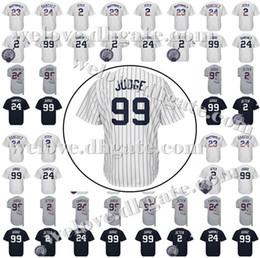 jeter maillot pas cher Promotion Vente Pas Cher 2 Derek Jeter Hommes New York 99 Jersey Baseball Aaron Judge 27 Giancarlo Stanton 24 Gary Sanchez 23 Maillots Don Mattingly