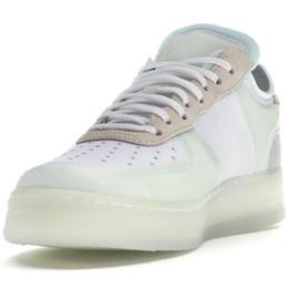 Одна подушка онлайн-Оптовая 10X Forces Low Airs Подушка 1 Один Мужские Кроссовки Кроссовки Чистый Белый Вольт Спортивные Тренеры Женщины Дизайнерская Обувь 6 цвет