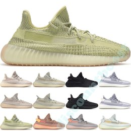 Argentina 2019 Adidas Yeezy Boost 350 V2 Kanye West Antlia Synth Reflective Gid Glow Negro True Form Clay Estático Hombres Mujeres Zapatillas Zebra Lundmark Atletismo Zapatillas 36-48 supplier kanye west shoes yeezy boost Suministro