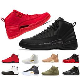 new products bf339 717e0 WNTR 12 12s Zapatillas de baloncesto para hombre NUEVO Gimnasio Red Bulls  OV blanco Barato al por mayor para hombre marca de lujo zapatos de  baloncesto ...