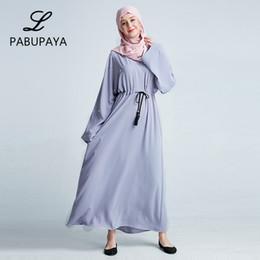 80368543cd Bat Sleeve Robe Large Size Women s Robes Muslims Long Loose Cardigan Loose  Elegance Party Dressing Gowns for Kaftan Arab Ladies