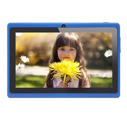 Google touch tablet online-7 pollici Android Google Tablet PC 4.2.2 8GB 512 MB DDR3 Quad-Core Touch Screen capacitivo WiFi 1.5GHz