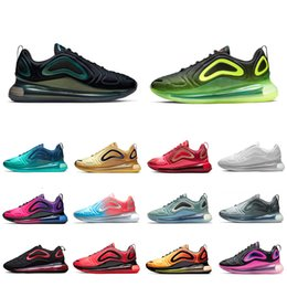 Nike Air max 720 shoes Sea Forest KPU OG Running shoes for men women Sunset Triple black Sunrise DESERT GOLD Mens trainers Laser Pink TPU Sports sneakers 36-45 ? partir de fabricateur