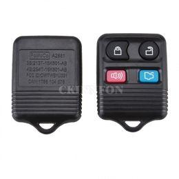 2019 chave para nissan qashqai 50pcs / Lot 4 botões do controle remoto da chave do carro Transit Keyless Entry Fob 315MHz / 433MHz Para Ford Remote Control Board Circuid