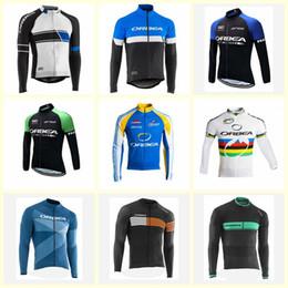 Monton radfahren trikots online-2019 ORBEA team Radfahren langen Ärmeln Trikot heißer Verkauf Top-Qualität atmungsaktiv schnell trocknend Monton Ciclismo Sportswear U91022