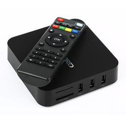 caja de metal android tv Rebajas MXQ Pro 4k RK3229 Quad Core Android 7.1 4K Smart TV BOX Smart TV BOX abonnement iptv subscribA2019