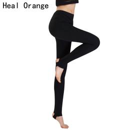 2019 colantes laranja spandex CURRAR ORANGE Profissional Leggings Esporte Passo a pé Calças de Fitness Yoga Correndo Calças Justas Ginásio Sportswear Calças Esportivas Leggins # 103808 colantes laranja spandex barato