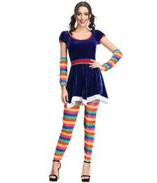 Adulte Sexy Cirque Clown Outfit Déguisement Costume Rouge Carnaval Dames Femmes Womens MS1157 ? partir de fabricateur