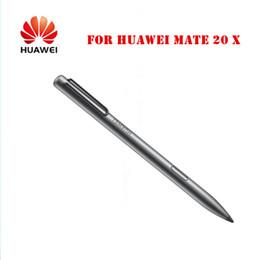 caneta original Desconto Chargeable 100% Original Para Huawei M-Pen stylus para Huawei Mate 20 X 4096 nível de pressão Caneta Eletrônica