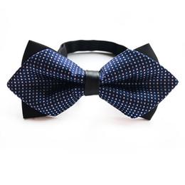 Mode Bleu Noir Vin Hommes Casual Soie Bow Tie Hommes Cravates Pour Homme Cravat Plaid Bowtie Gravata Lot Papillon Réglable ? partir de fabricateur