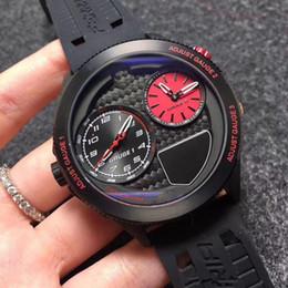 Черные автоматические часы big bang онлайн-Ferrari роскошные relogios masculinos высокое качество лучшие часы бренда мужчины черный дизайнер Big Bang кварцевые автоматические часы день дата для лучших подарков