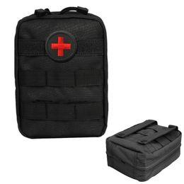 poche à outils molle Promotion Molle Tactical Military 600D EDC Utilitaire Sac Médical Secourisme Pochette Outils Outils Nouveau # 664588