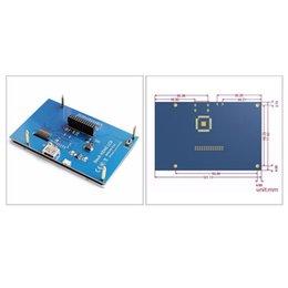 cámara vga pc Rebajas 5 pulgadas LCD de pantalla táctil HDMI Frambuesa Pi 3 Pantalla LCD HDMI del monitor de 800x480 de plátano Pi frambuesa 3/2 Modelo B / B +