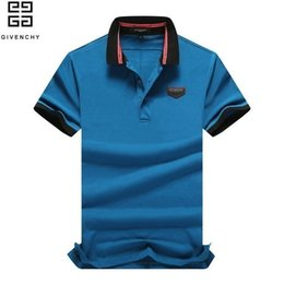 original t shirts designs Promo Codes - HLF Summer New Fashion Men Polo T Shirts Short Sleeves And Lapel Perfect Quality Original Design Polo 3012# F778