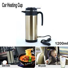 2019 tazza di toyota Acqua bollitore elettrico bollente 12 V auto montati su carri Viaggi isolante termico di riscaldamento Cup Car pot caldaia Bottiglia