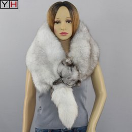 2019 натуральные шарфы Women's Real  Fur Scarves 100% Natural  Fur Collar Lady Warm Shawl Fashion Elegant Woman Scarf Free Shipping скидка натуральные шарфы