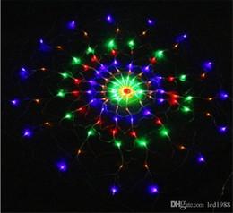 многоцветные рождественские огни для Скидка 1.2 м 120led паутина светодиодные огни строки чистый свет Рождество Хэллоуин свадебные украшения многоцветный