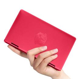 Wholesale Le plus récent Rouge Style Tablet PC un netbook Pocket Computer Intel m3 CPU Y avec reconnaissance d empreinte digitale Bluetooth IPS G G