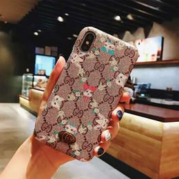 iphone hüllen bilder Rabatt Luxustelefon-Kasten, der rückseitige Abdeckung für IPhone X XS MAX bereift Entwerfer-Telefonabdeckung mehrfache Bilder, um Art und Weisefälle iphone x Fall zu wählen