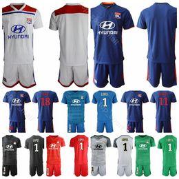 455008db0e9 soccer goalkeeper shirts Coupons - Olympique Lyonnais Lyon 2018 2019  Goalkeeper 1 Anthony Lopes Jersey Men