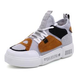 2020 scarpe da ginnastica bianche coreane 2020 nuova versione coreana delle scarpe da tennis delle donne di scarpe basse delle Nazione marea piccole scarpe bianche donna scarpe da ginnastica bianche coreane economici