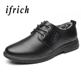 Chaussures élégantes marron en Ligne-Chaussures habillées d'hiver pour hommes en fourrure, élégantes chaussures pour hommes Black Brown Social Shoes pour hommes Mode classique