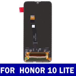 2019 lentes de vidro da frente s4 Original para huawei honor 10 lite HRY-LX2 HRY-LX1 HRY-AL00 LCD Display Touch Screen digitador assembléia Ypf27-78