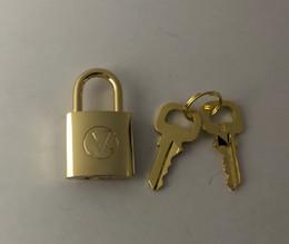 maillons de collier rond en bronze Promotion cadenas bagages / set Lock = 1 serrure + 2 clés, comme un pendentif à vos colliers DiY. Désigner client Produit