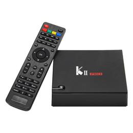 Dvb s2 quad онлайн-2G 16G KII Pro DVB-S2 DVB-T2 Amlogic S905D Четырехъядерный Android 7.1 ТВ-бокс 4K Wi-Fi Bluetooth 4.0 K2 PRO Smart BOX