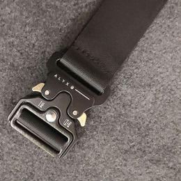 cinture in pelle bianca rossa bianca Sconti Cintura ALYX Marca Mens Militare Outdoor multifunzionale Formazione Cinturino di alta qualità ceppa Hip Pop Men Off Belt