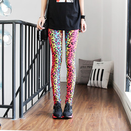 353589bec92cf0 New Fashion Leopard Christmas Legging High Waist Leggings Punk Woman  Clothes Punk Rock Leggings Women