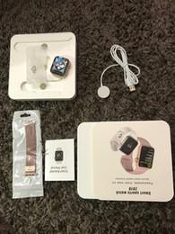 medidor de ips Rebajas Para iphone iwatch IWO 9 Reloj inteligente Serie 44mm 4 1to1 Bluetooth Smartwatch Monitor de ritmo cardíaco Reloj de pulsera deportivo para iPhone Samsung