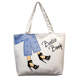 2019 sacchetti di tote del panno del regalo all'ingrosso 2019 nuovo coreano semplice pacchetto di borse di tela borsa giapponese letterario borse a tracolla shopping tote borsa da viaggio pieghevole